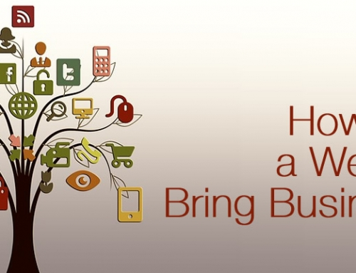 How can a website bring business?